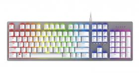 Razer Huntsman keyboard White/Silver US